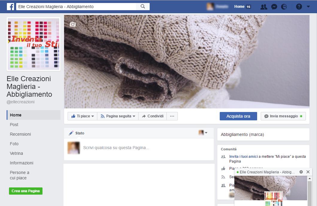 Pagina di Facebook - Facebook Page