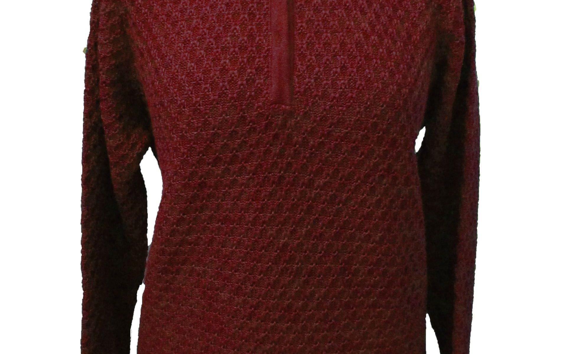 Maglia Polo in Bubble Knit