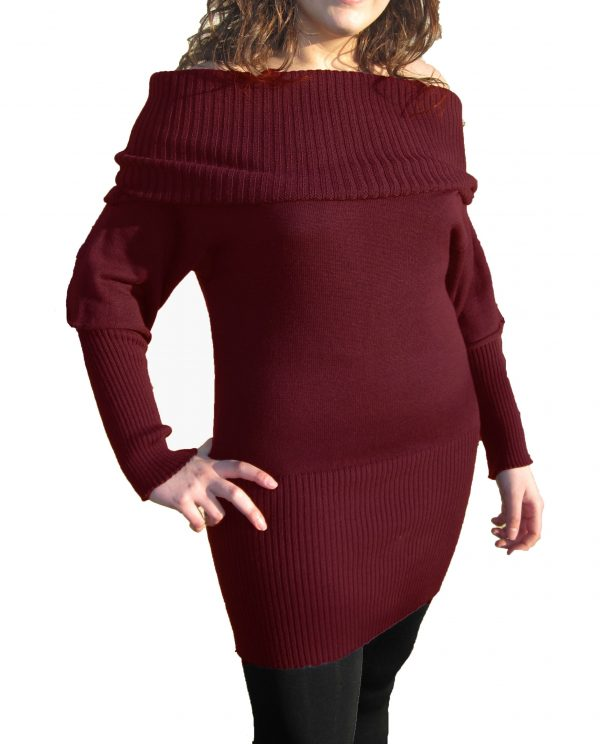 Vestito Bordeaux - Bordeaux Dress