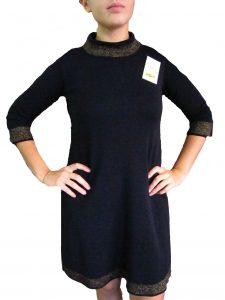 Vestito con lurex Nero - Black Dress with Lurex