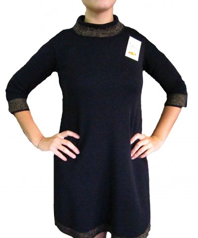 Vestito con lurex Nero - Black Dress with Lurex