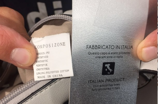 Attenzione al Falso Made in Italy - Attention at False Made in Italy