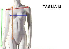 Taglia M Donna - Size 10 Woman