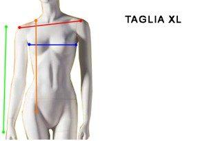 Taglia XL Donna - Size 14 Woman