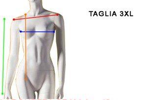 Taglia 3XL Donna - Size 18 Woman