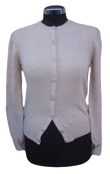 Cardigan Donna Bottoni Paricollo - Women Cardigan with Buttons Roundneck