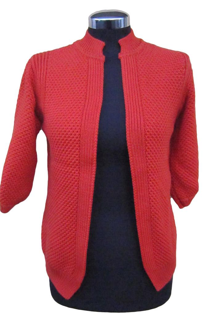 best loved 02af5 4a6eb Cardigan-Donna-Nido-D'Api-Corto - ElleCreazioni Knitwear Factory