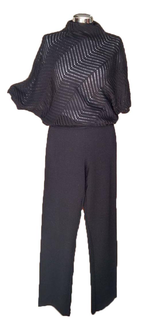 Maglia Kimono con Traforo a Resche
