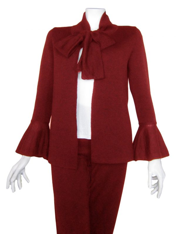 Giacca con Rouge e Fiocco - Cardigan with Rouge and Bow