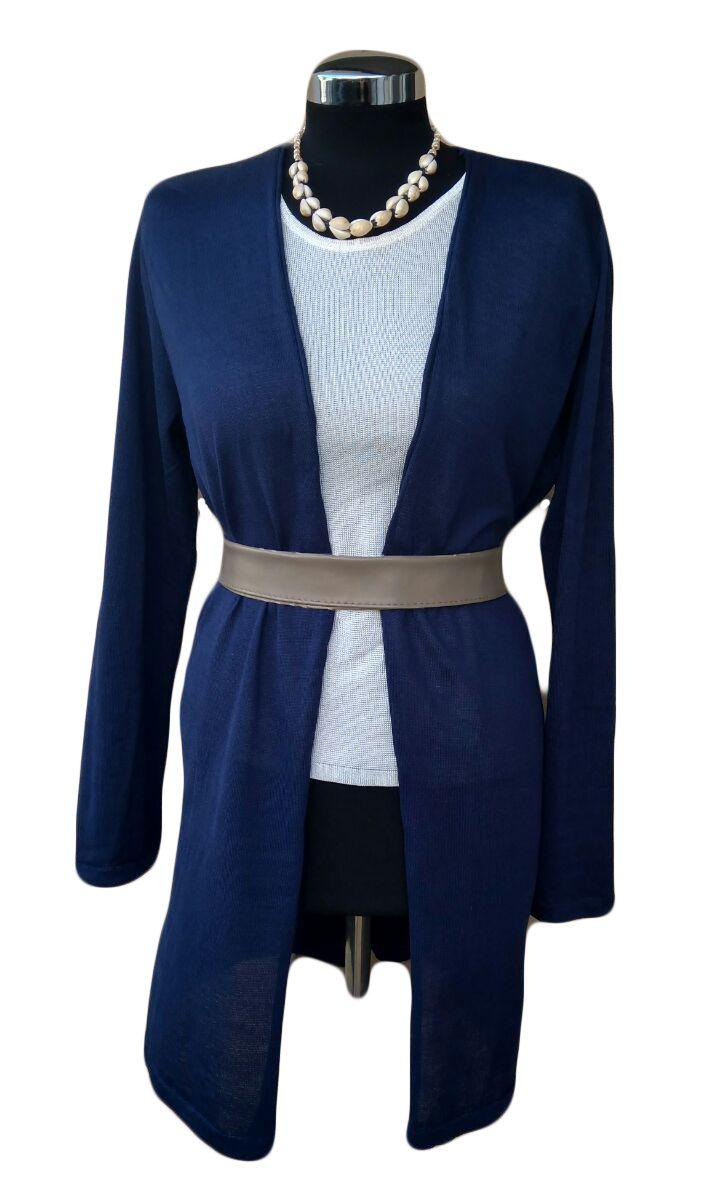 Giacca Blu di cotone - Blue Cotton Cardigan