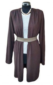 Giacca marrone di cotone - Brown Cotton Cardigan