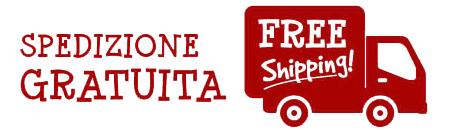 spedizione gratuita - free shipping