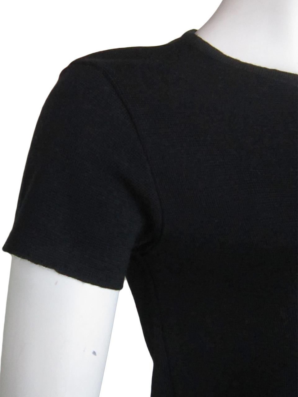 Vestito Tubino Manica Corta - Sheath Dress with Short Sleeves