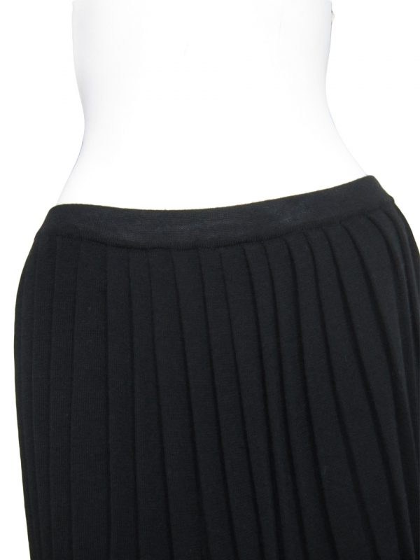 Pleated Skirt in United Knit Point - Elastic