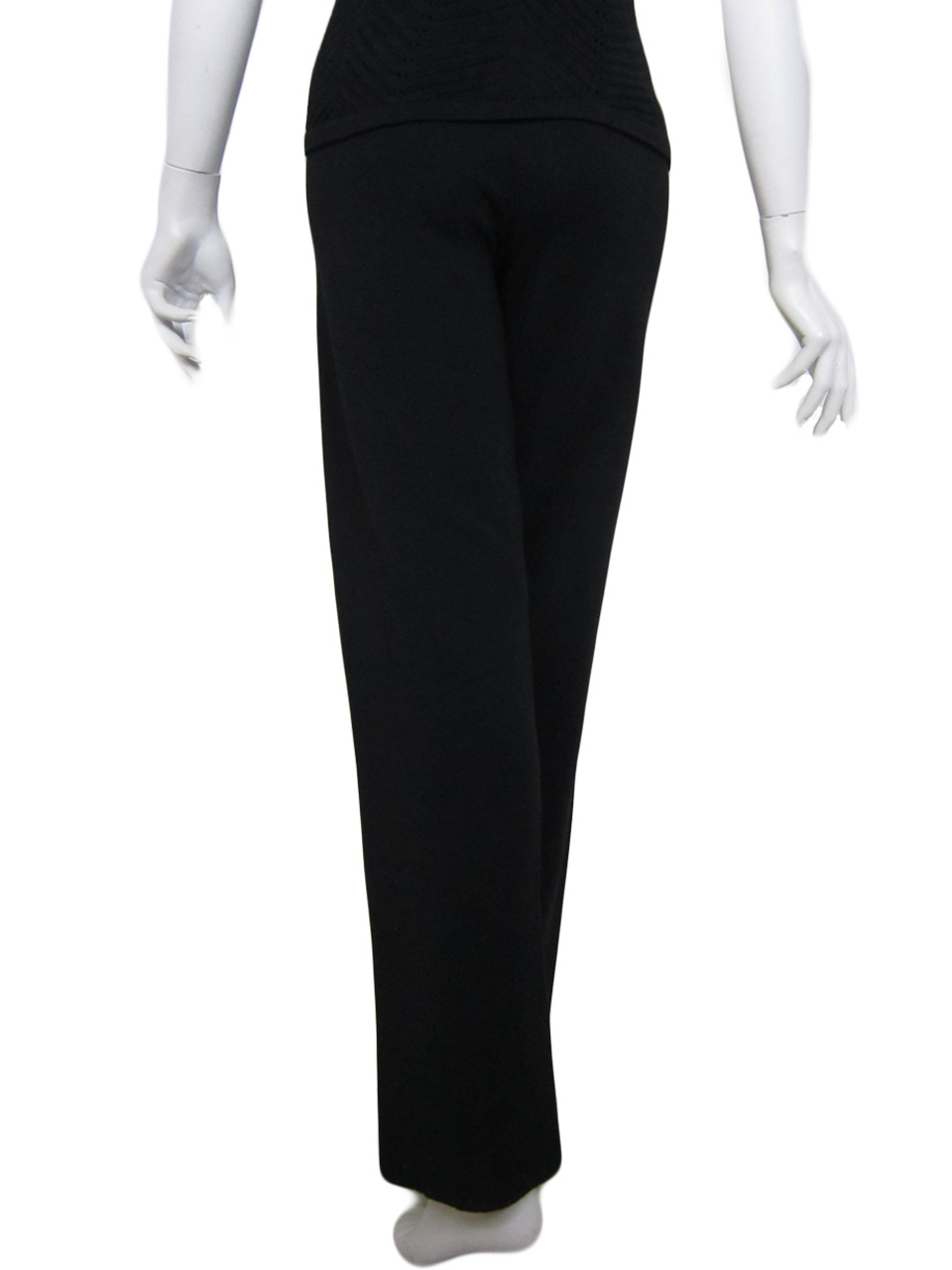 Palazzo Pants in Milano Point Back Side